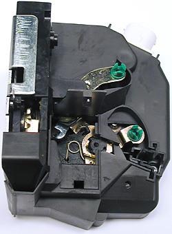 Door Latch / Actuator Left Rear