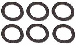 Genuine Oil Pan Drain Plug Washers, Set Of 6, For Land Rover Discovery Series 2 And Range Rover P38 4.6 Liter