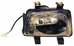 Genuine Fog Lamp Driving Light, Left Hand, For Land Rover Discovery Series II, 1999 - 2002
