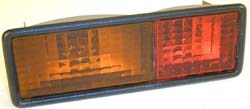 Tail Light Assembly, Rear Left Hand On Bumper, For Land Rover Discovery I
