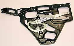 window regulator, rear side - ASR2496