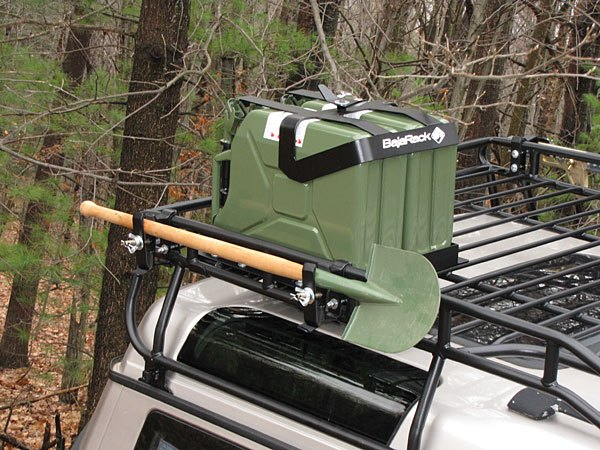 Land Rover jerry can brackets for roof rack - BR-FCH2-0