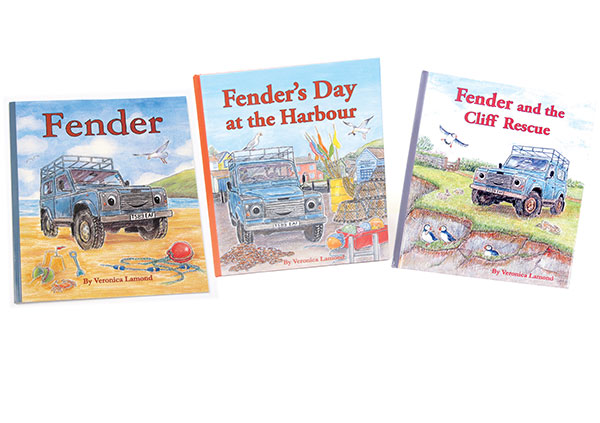 Books: Fender Series, Children's Land Rover Defender Storybooks (Set Of 3 Books)