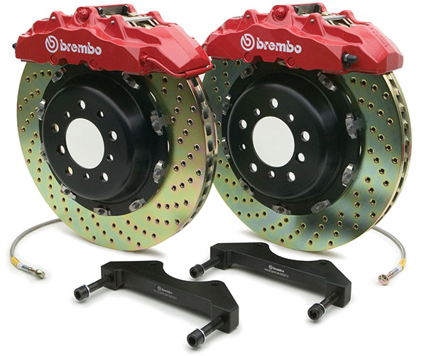 Brembo High Performance Gran Turismo Brake Rebuild Kit - 1G1.9006A