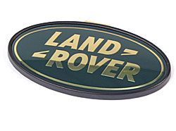 Genuine Land Rover Logo Rear Door Badge, Green And Gold For Range Rover Sport And Range Rover Full Size L322