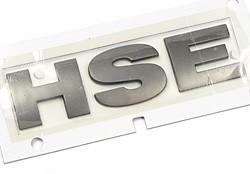 Badge HSE Tail Door Brunel Chrome