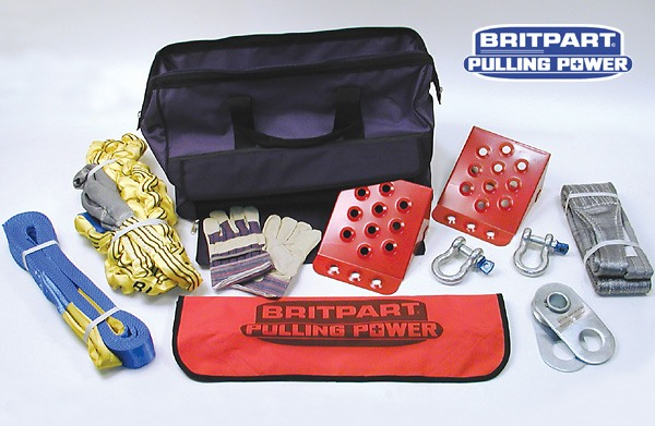 Winch Accessory Kit - Britpart Pulling Power Professional
