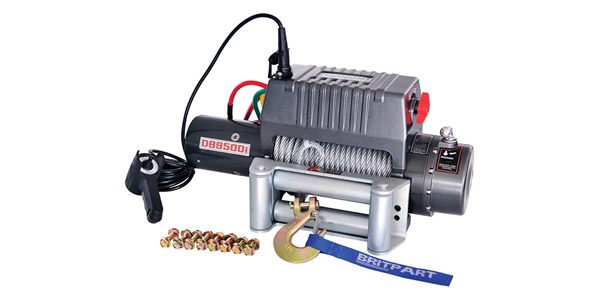 Winch for your Land Rover - DB9500I