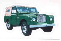 Land Rover Series 2A decal