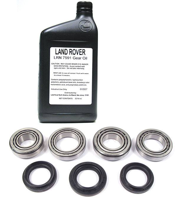 differential overhaul kit for Land Rover, including LRN 7591