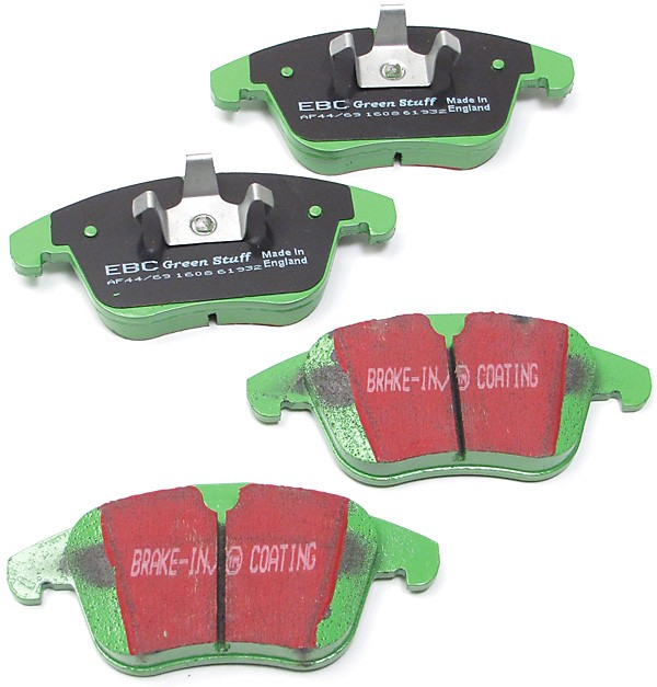 EBC 6000 Series Greenstuff front brake pads - DP61932
