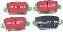 EBC 6000 Series Greenstuff rear brake pads - DP61933