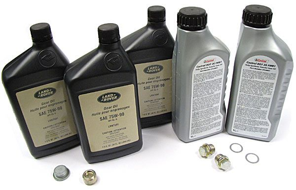 differential oil and transfer case fluid
