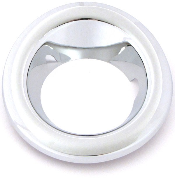 Fog Lamp Bezel Front LH Chrome
