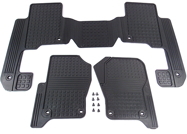 rubber floor mats for the LR3