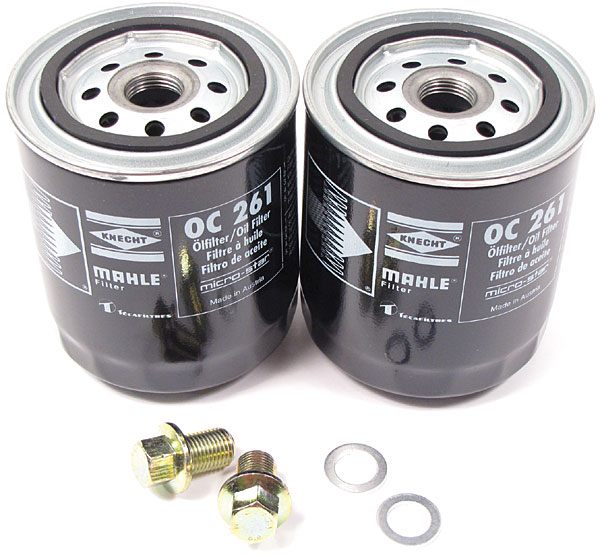 Land Rover Discovery 2 oil filter kit
