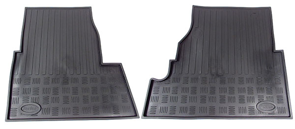 black floor mats for Land Rover Series vehicles