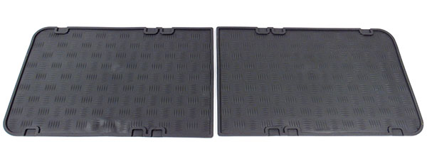 rubber floor mats for Land Rover Series