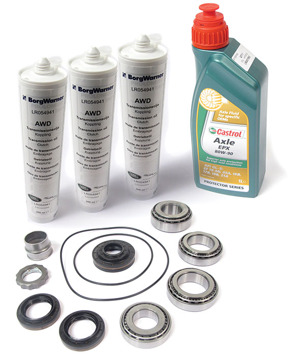 Rear Differential Repair Kit With Fluid for Land Rover LR2 (2008-2011)