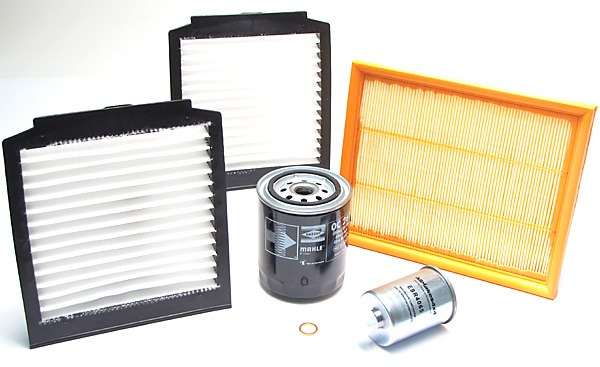 Filter Kit - Includes Oil, Air, Fuel And Cabin Filters