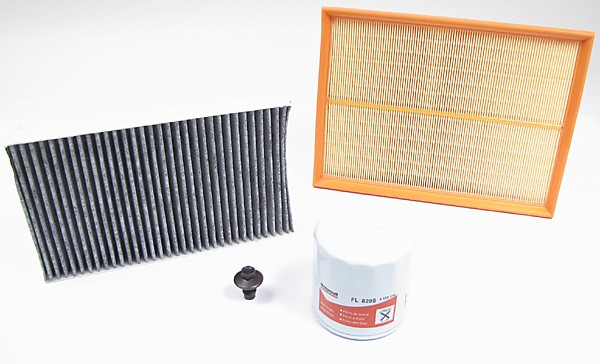 oil, air and cabin filter