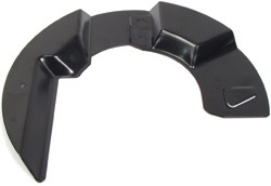 front disc brake shield, Land Rover - FTC4838