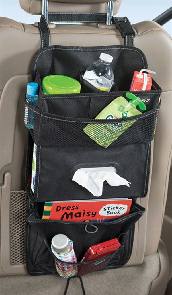 car hanging storage organizer backseat