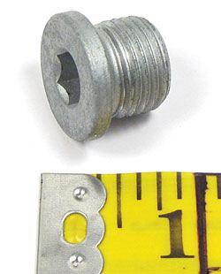 Land Rover transmission drain plug