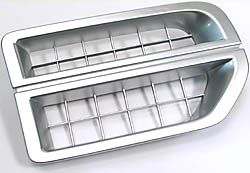 Grille Side Air Intake Chrome