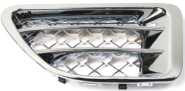Driver Side Fender Air Intake Chrome Grille For Range Rover Sport