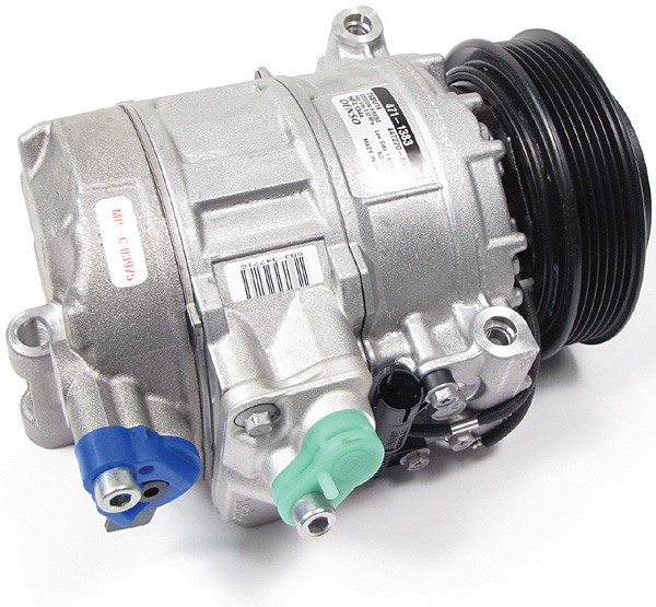 A/C Compressor, Original Equipment By Denso, For Land Rover Freelander