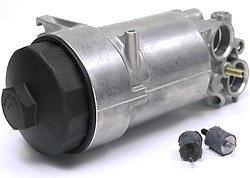 Oil Filter Housing With Mounts