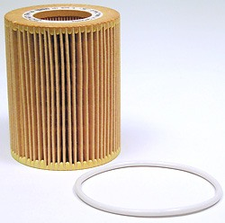 Genuine Cartridge Oil Filter With Rubber Gasket Seal For Land Rover LR2