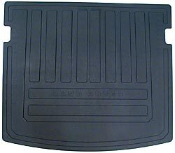 Genuine Cargo Liner / Loadspace Mat, Black Rubber, For Land Rover LR2, 2008 - 2015