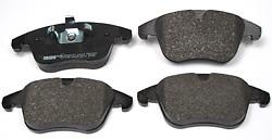 front brake pads for LR2 - LR004936F