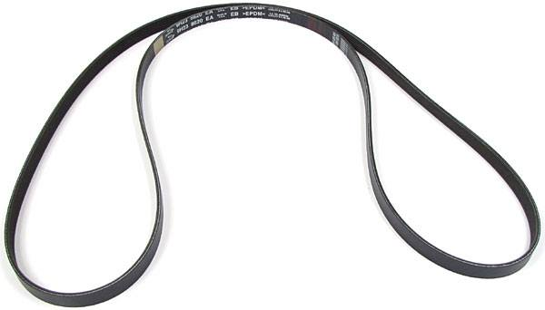 Genuine Serpentine Belt, Primary Drive, For Range Rover Sport Supercharged, 2010 - 2013, With Roll Stability Control