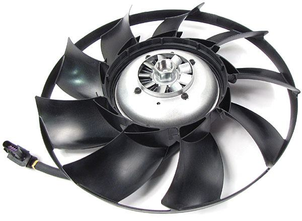Genuine Fan And Clutch Assembly For Land Rover LR4, Range Rover Sport And Range Rover Full Size (See Fitment Years)