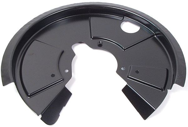 Genuine Brake Backing Plate Dust Shield, Right Rear, For Land Rover Discovery I And Defender 90