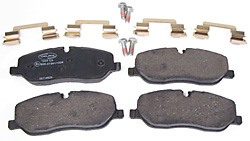brake pads, clips and pins