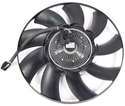 Engine Cooling Fan Clutch, Original Equipment By Behr LR025234, For Range Rover Sport And Land Rover LR3, 2005 - 2009