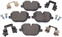 rear brake pads for Range Rover Full Size - Sport Supercharged