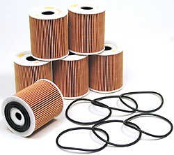 Oil Filter Kit: Set Of 6 Filters