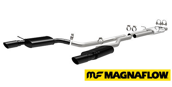 MagnaFlow Performance Stainless Steel Exhaust System - Cat-Back - Dual-Exit / Twin-Tip