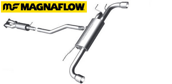 LR2 performance exhaust system