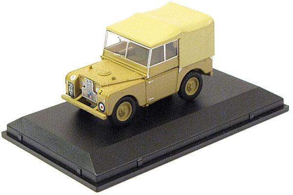 1:43 scale diecast Land Rover Series I