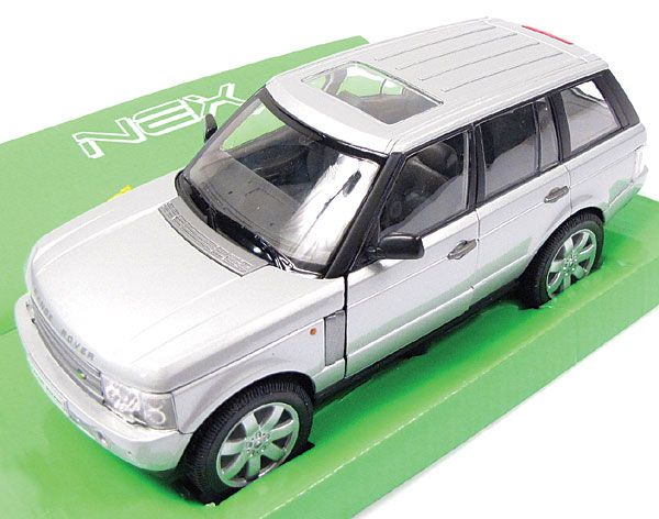 Range Rover scale model