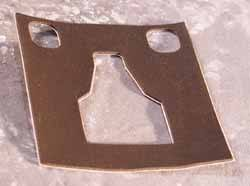 Genuine Door Latch Seal MUC1822 For Land Rover Discovery I And Range Rover Classic