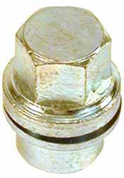 single steel lug nut - NRC7415