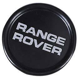 Black Wheel Center Cap For Range Rover Classic