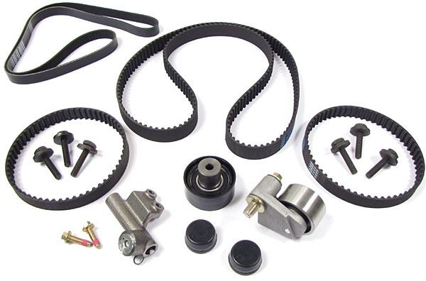 Timing Belt And Drive Belt Replacement Service Kit For Land Rover Freelander, 2002 - 2005, Includes Belts, Tensioner Pulleys, Seals And Hardware